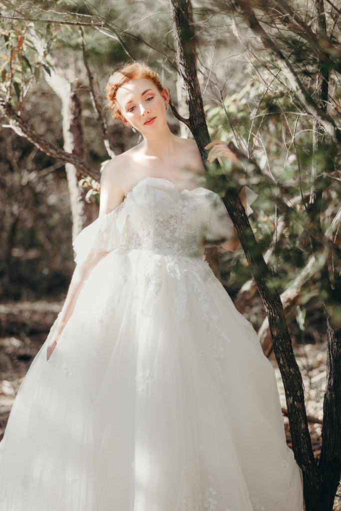 The Lacy Day Wedding Dress Wedding Gown
