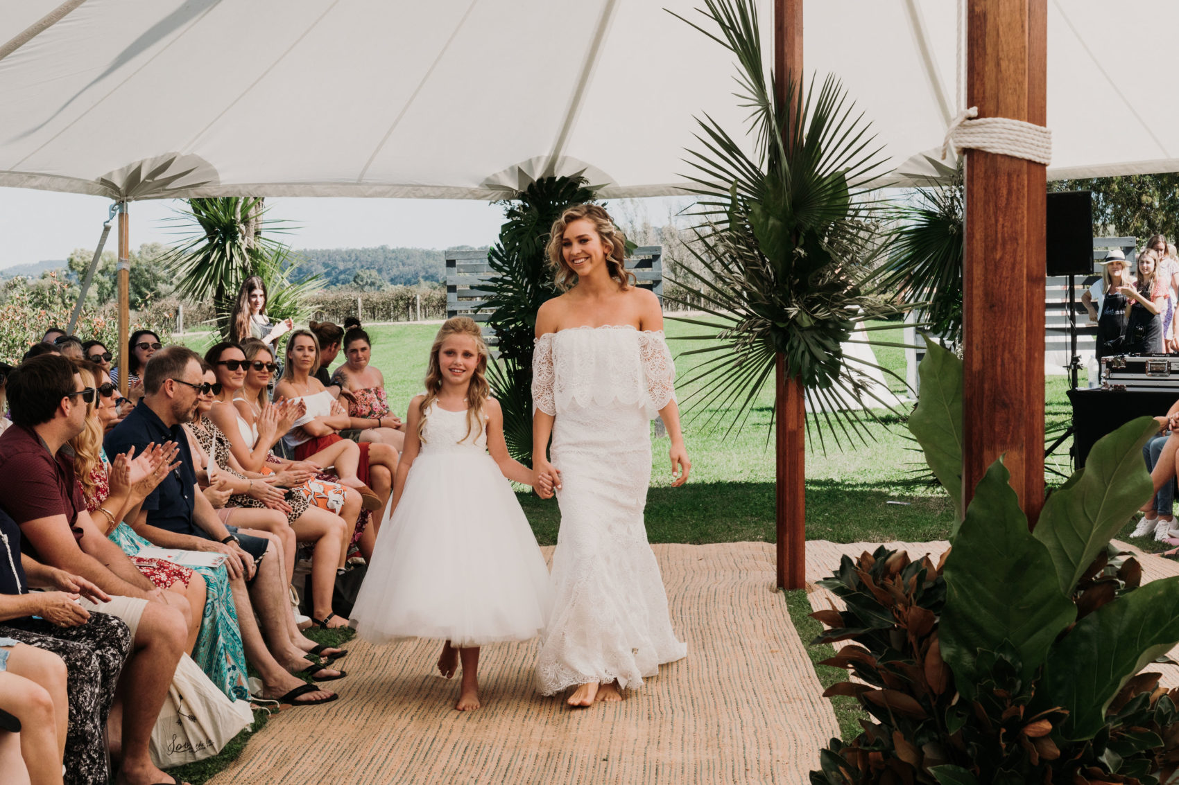 The Lacy Day Wedding Gown